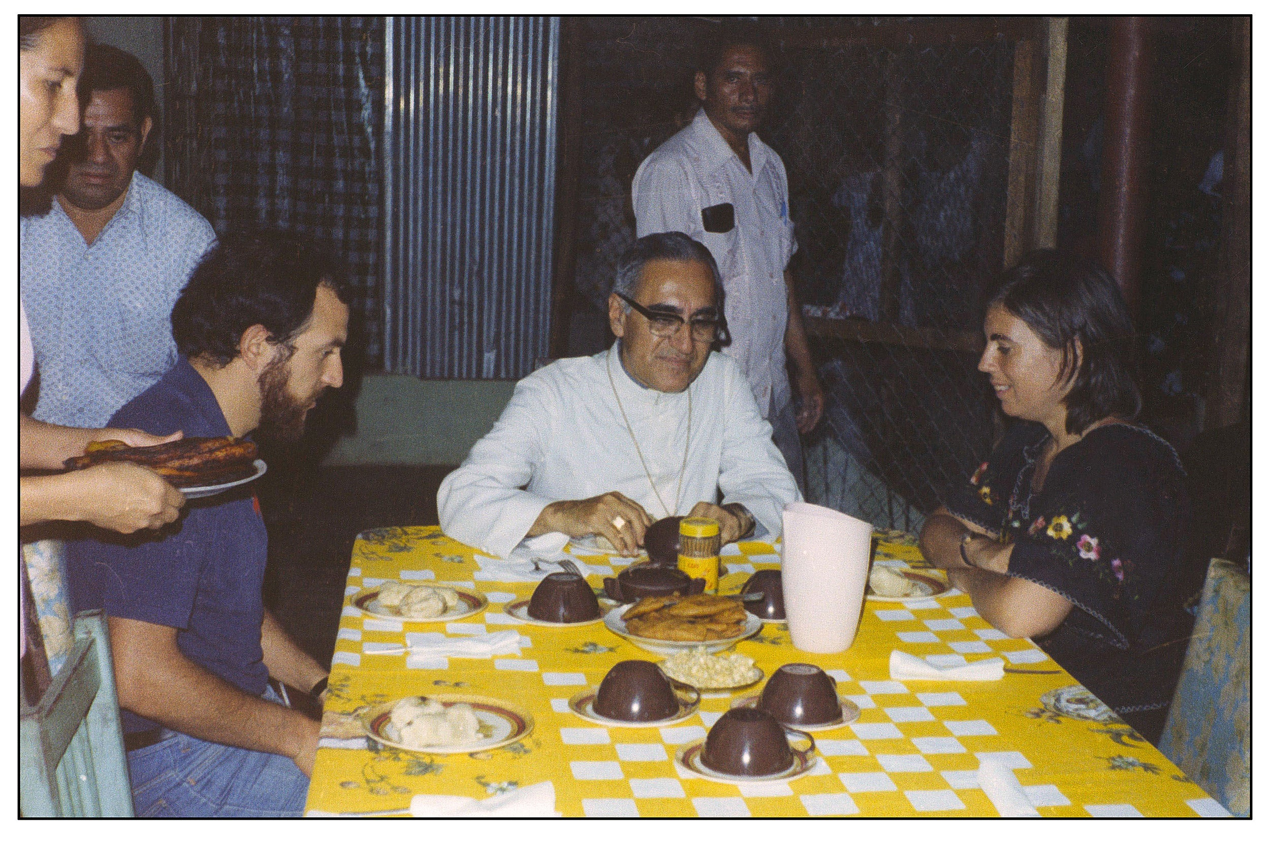 Archbishop Oscar Romero.