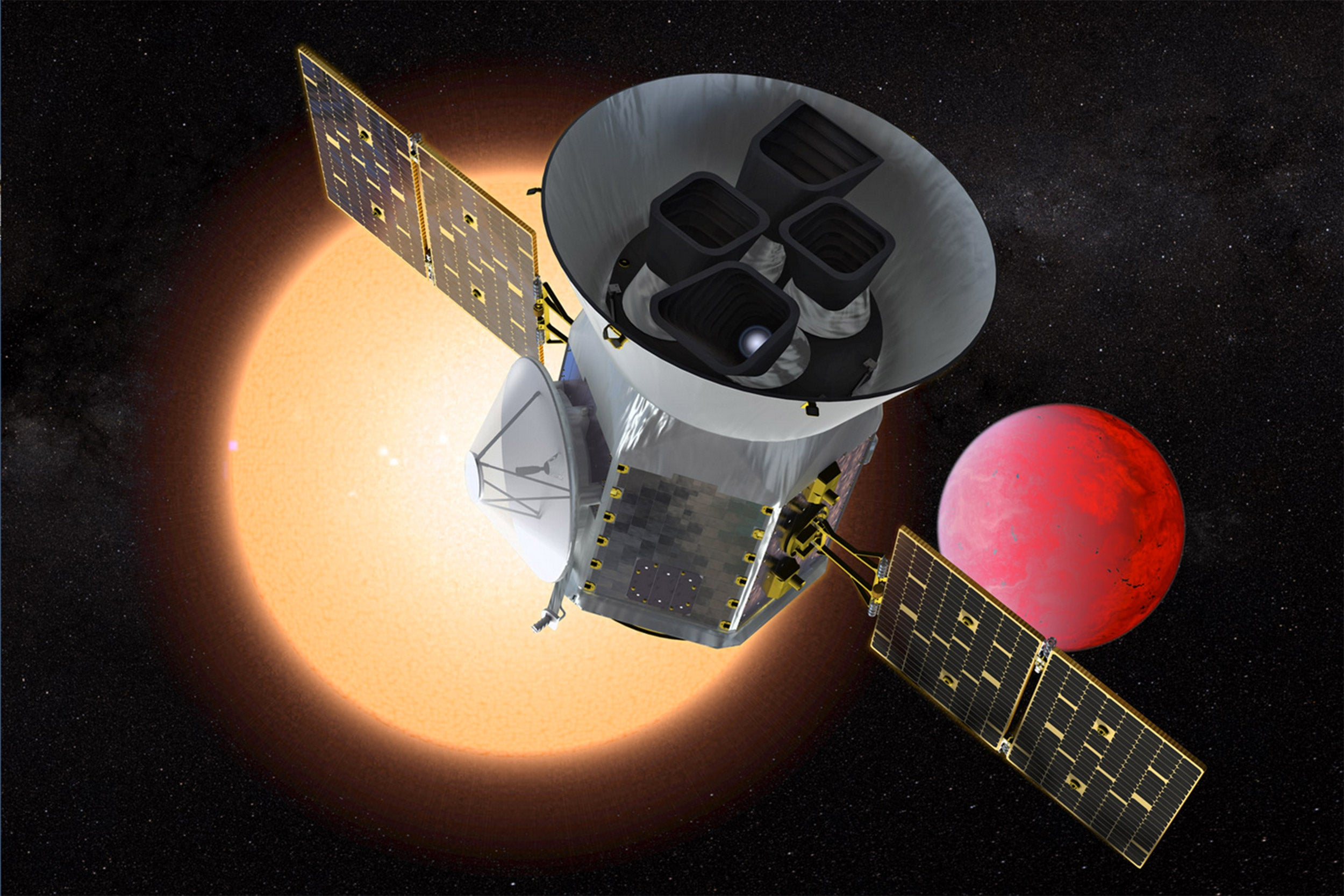 TESS satellite