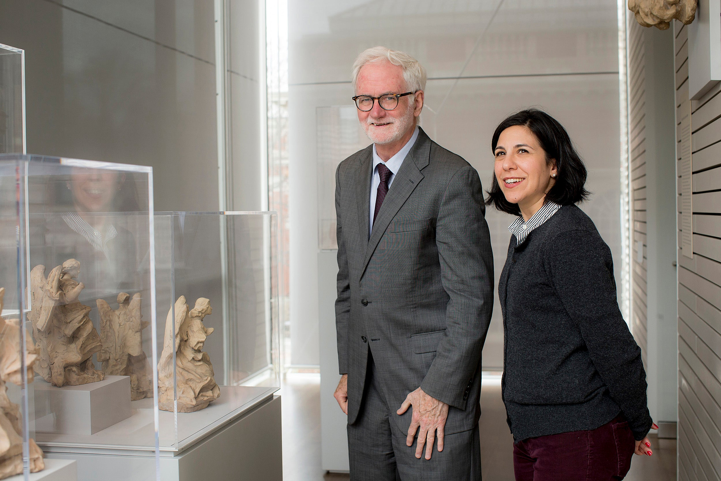Joseph Connors, professor of history of art and architecture, took listeners on a virtual tour of two of Rome's most iconic spaces, the Piazza Navona and the Piazza San Pietro. Danielle Carrabino, an associate research curator in European Art at the Harvard Art Museums, assisted Connors on the exhibit.