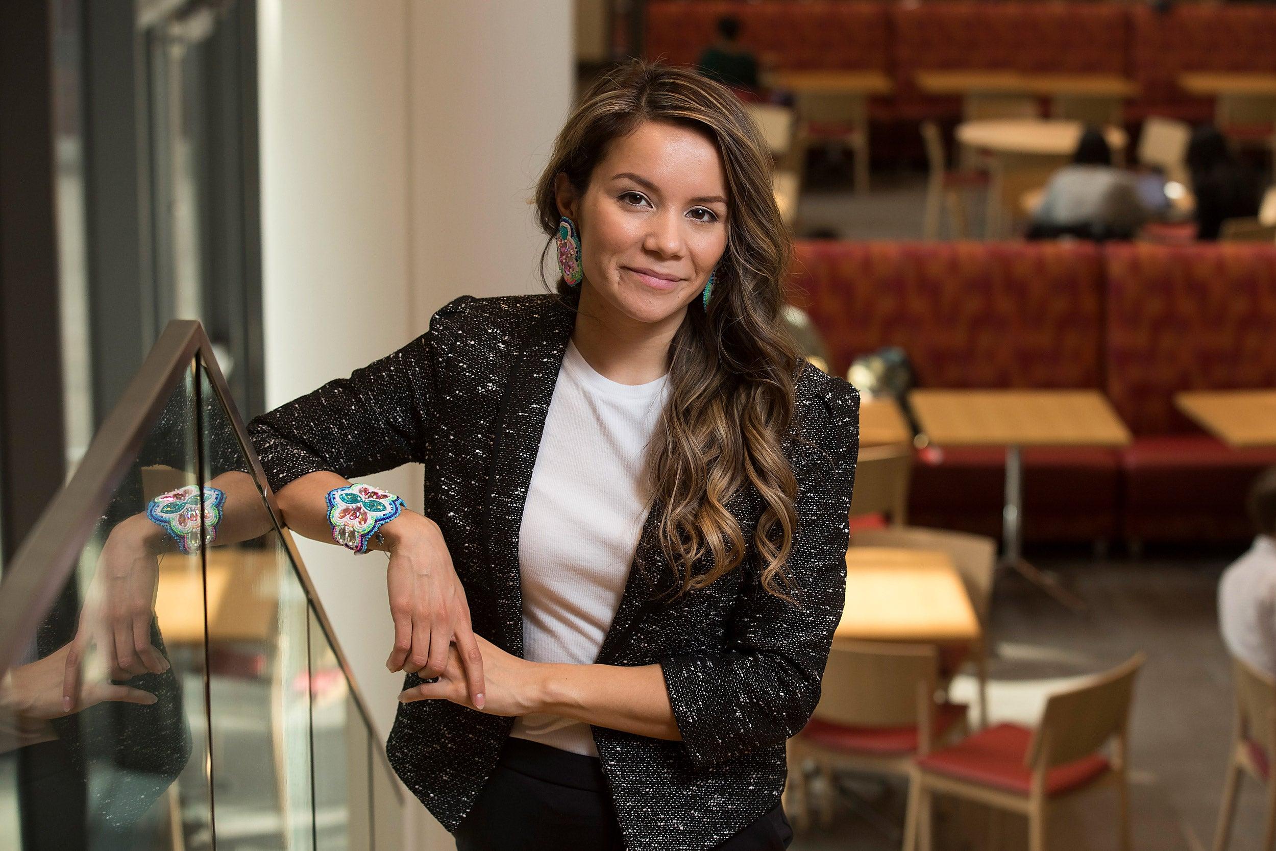 Gabrielle Scrimshaw, Gleitsman Fellow at the Harvard Kennedy School