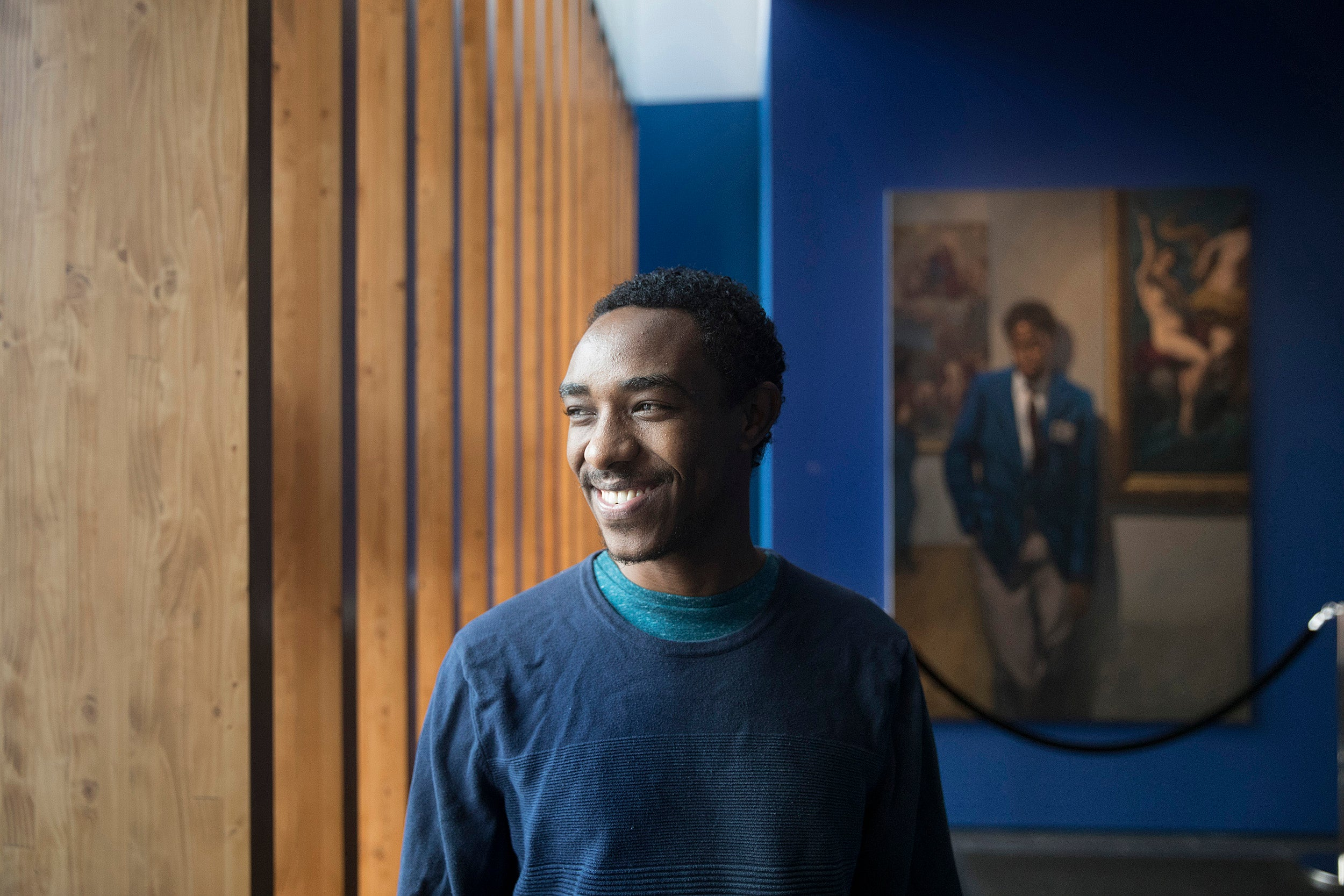 Zelalem Kibret, a scholar at risk this year at Harvard, was arrested and jailed by the Ethiopian government in 2014 for his dissident activity as a part of the Zone 9 blogging collective.
