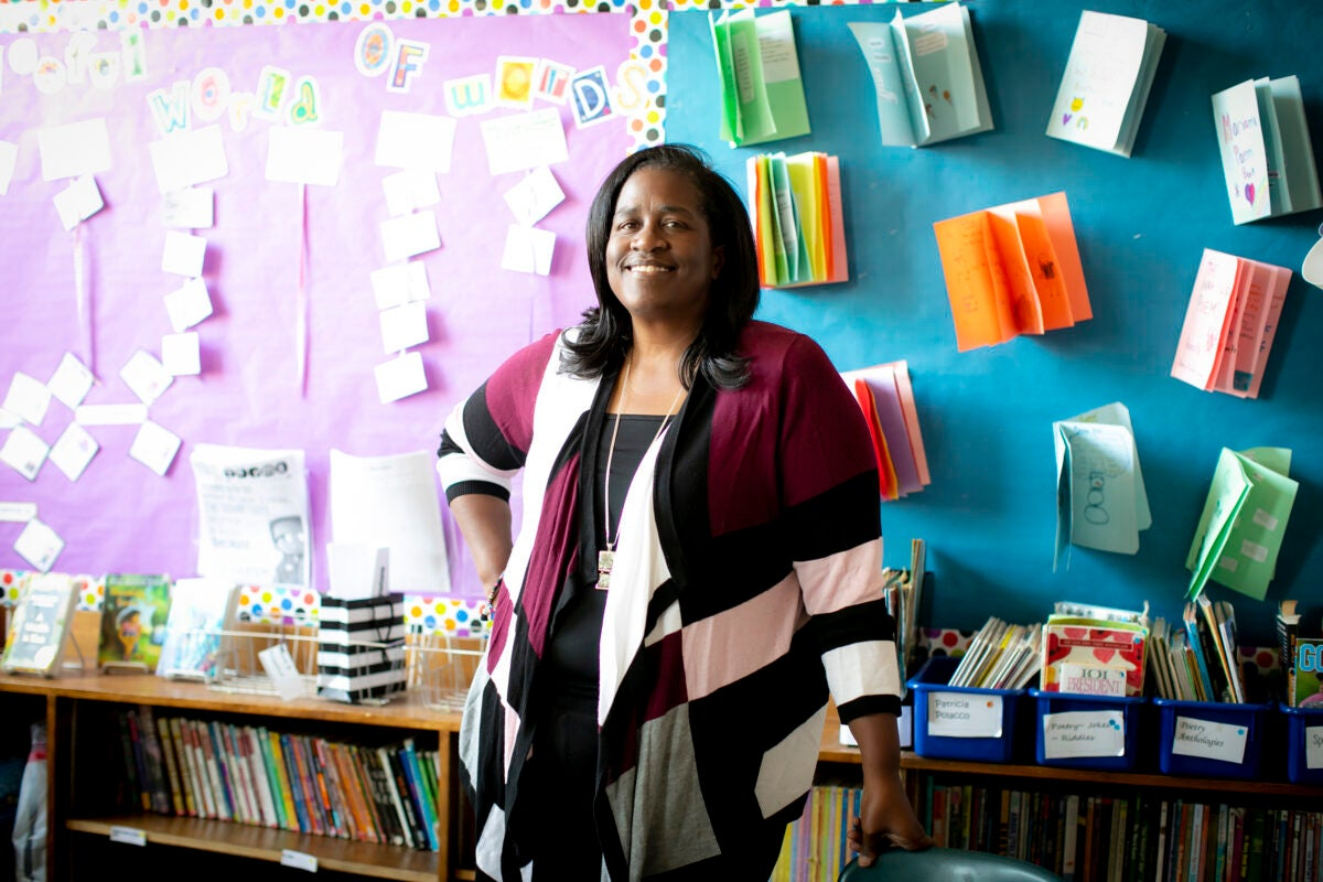 """""""With Mind Matters we're able to give parents really specific tools that they're then able to utilize with their kids,"""" said Fletcher Maynard Academy principal Robin Harris"""