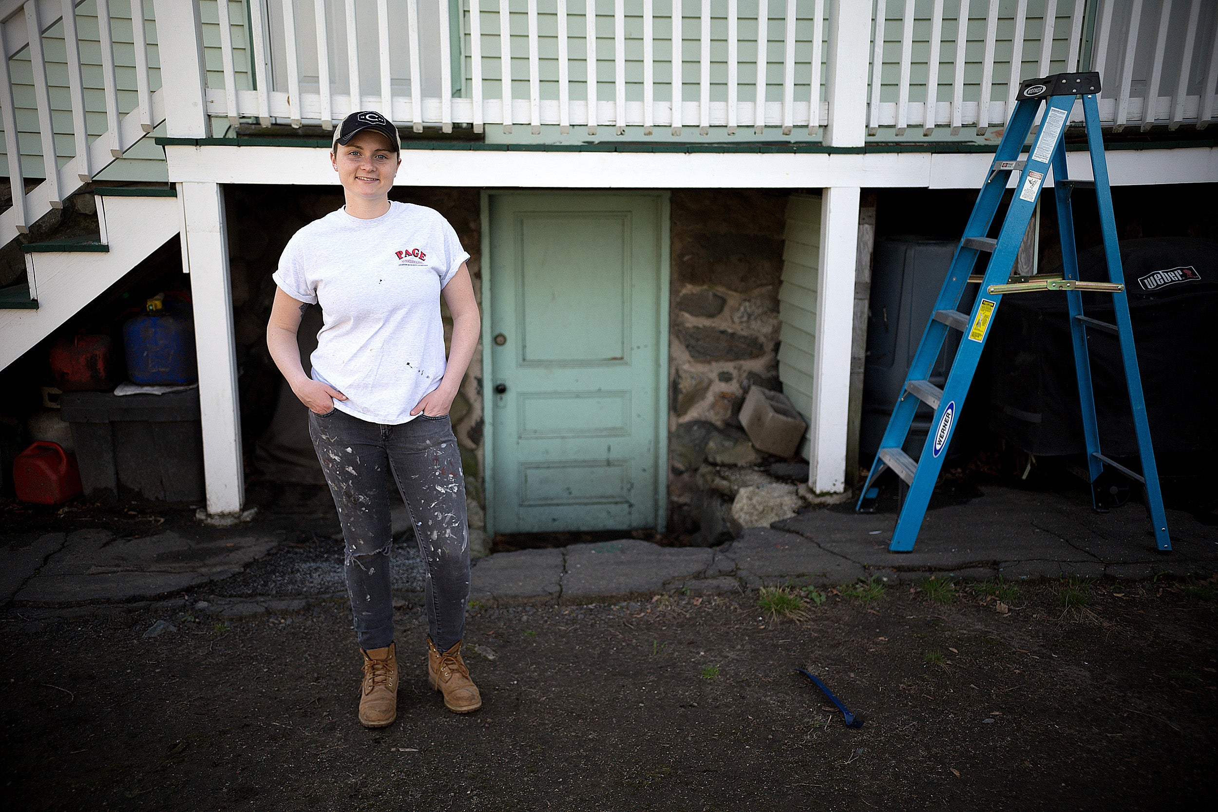 Struggling to find direction as an underclassman, Haley Curtin '18 took a gap year to help rebuild rural communities in West Virginia where she found both spiritual and professional purpose.