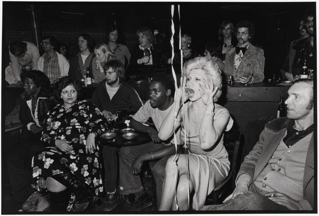 Nan Goldin, Naomi in the audience, Boston, 1973, printed 1990–91.