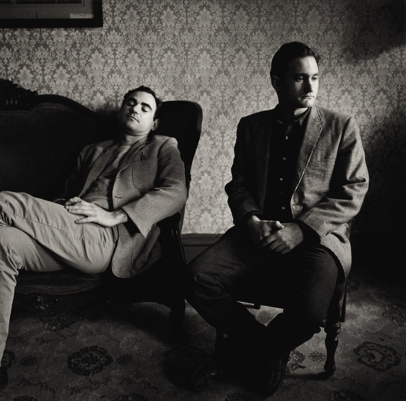 Peter Hujar, John Erdman and Gary Schneider at Mohonk Mountain House, 1984.