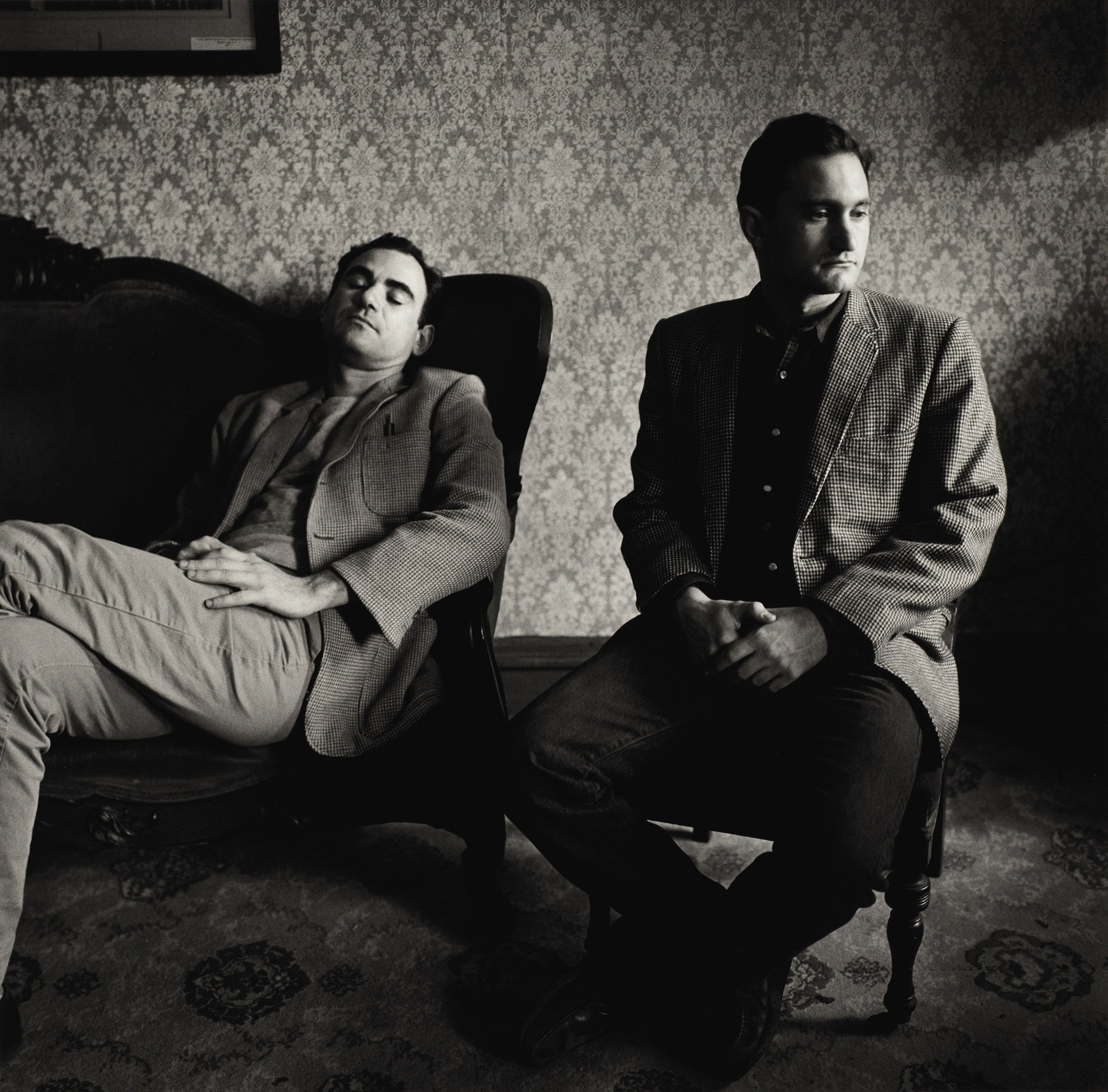 Peter Hujar, John Erdman and Gary Schneider at Mohonk Mountain House, 1984.