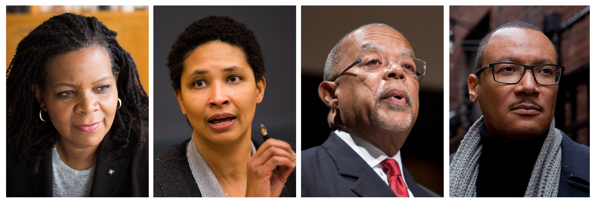 Annette Gordon-Reed (from left), Danielle Allen, Henry Louis Gates Jr., and Tommie Shelby.