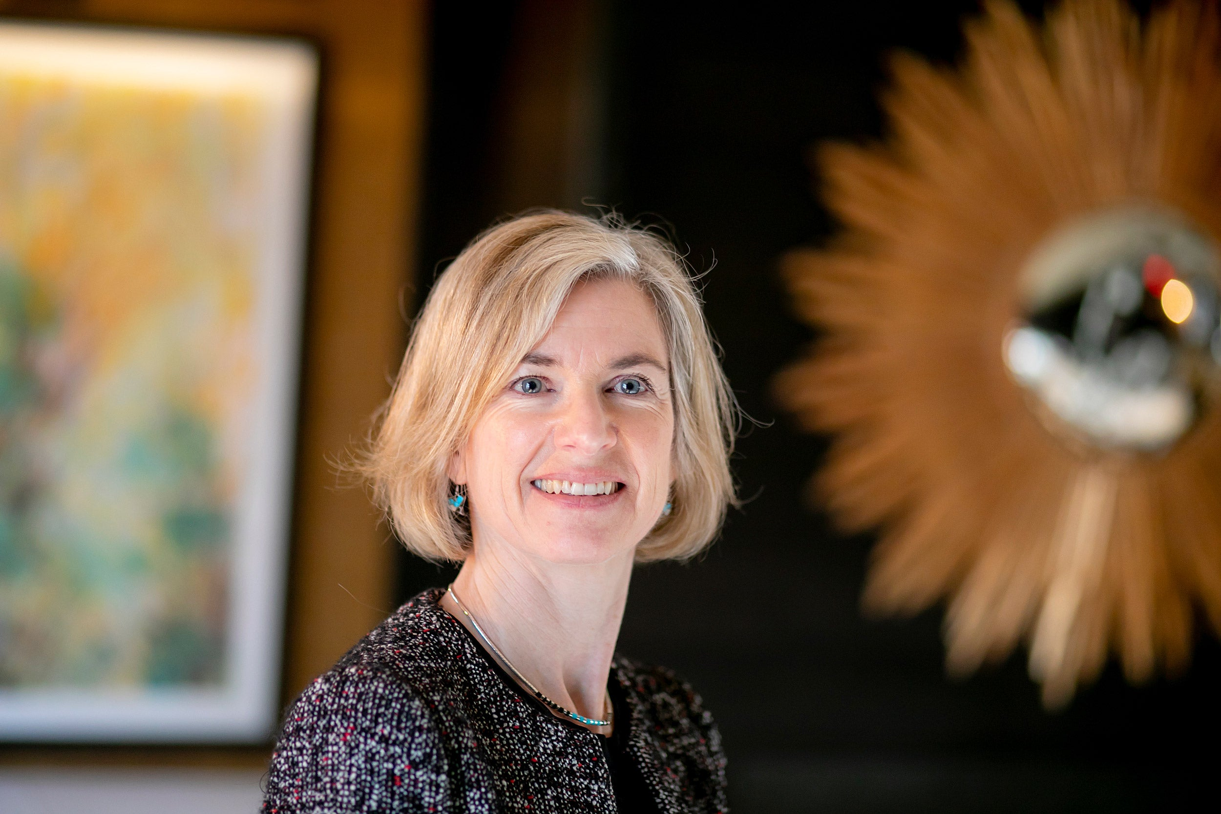Jennifer Doudna, who first identified CRISPR/Cas9 as a gene-editing tool, delivered three lectures about the tool's rapid spread and the need for discussion about the ethics of its applications.
