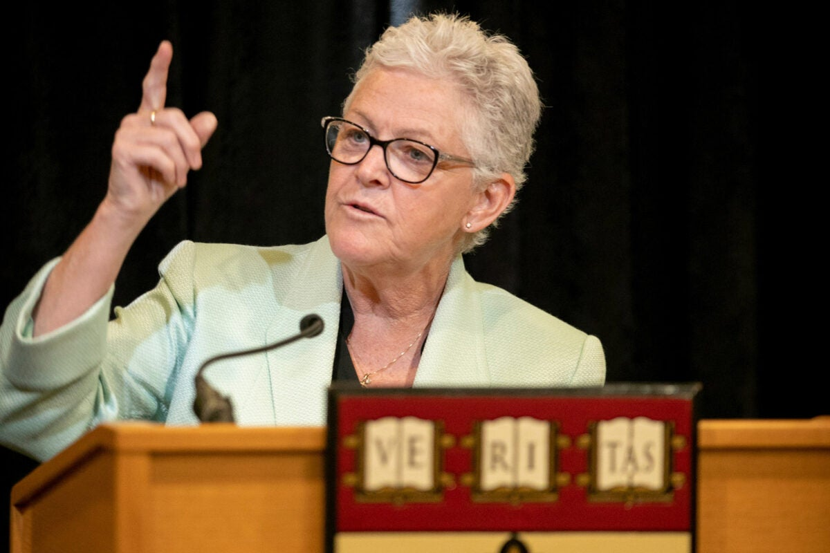 The Harvard Chan School's Center for Climate, Health, and the Global Environment will be led by ex-Environmental Protection Agency administrator Gina McCarthy.