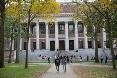 """""""Chosen from a record applicant pool of 42,749, the Class of 2022 promises to be one of the best in Harvard's long history,"""" said William R. Fitzsimmons, dean of admissions and financial aid."""