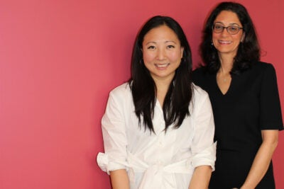 Margaret Wang '09 (left) will succeed Susan Morris Novick '85