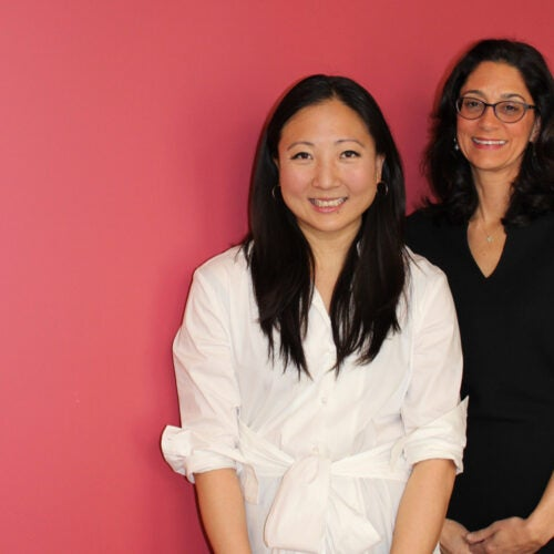 Margaret Wang '09 (left) will succeed Susan Morris Novick '85
