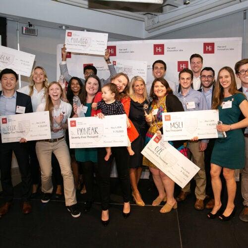 Pres Challenge winners
