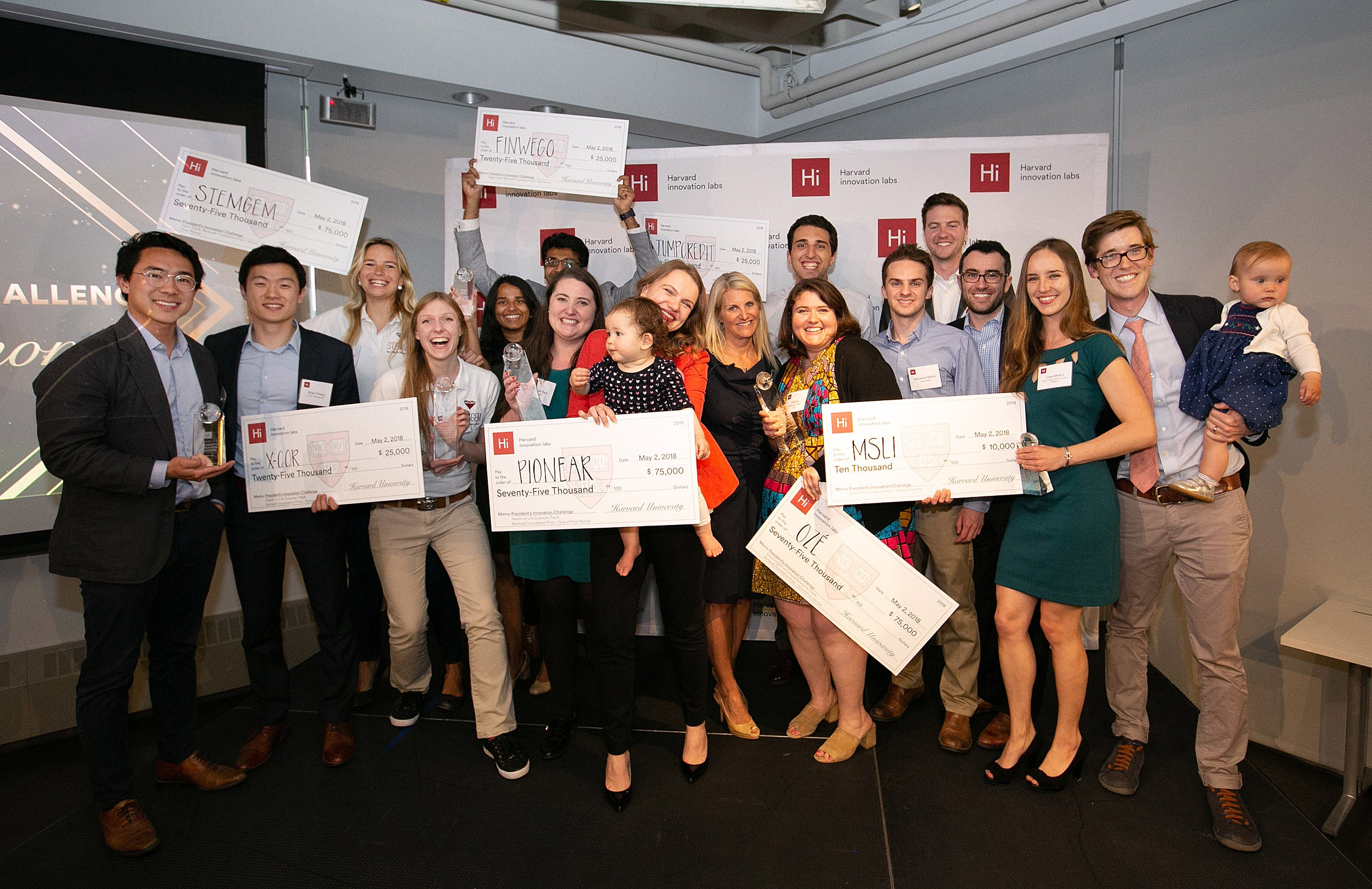 3 student ventures win top prizes in President's Innovation