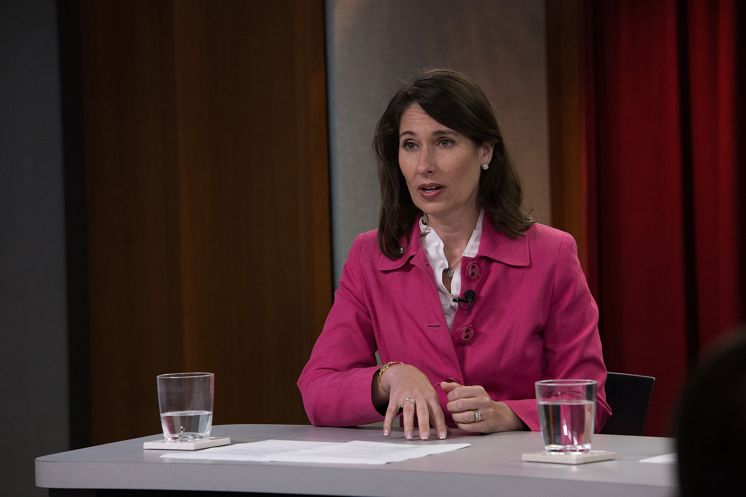 """Human beings do not make good choices behind the wheel,"" said Deborah Hersman at a Chan School panel discussion on the future of self-driving cars. ""We're hoping that machines will be better than us."""