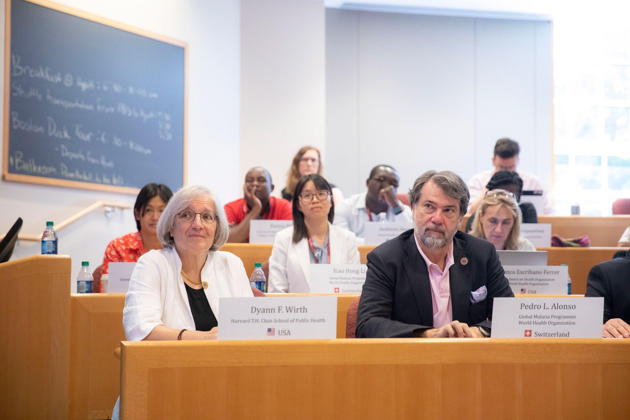 Malaria workshop at Harvard.