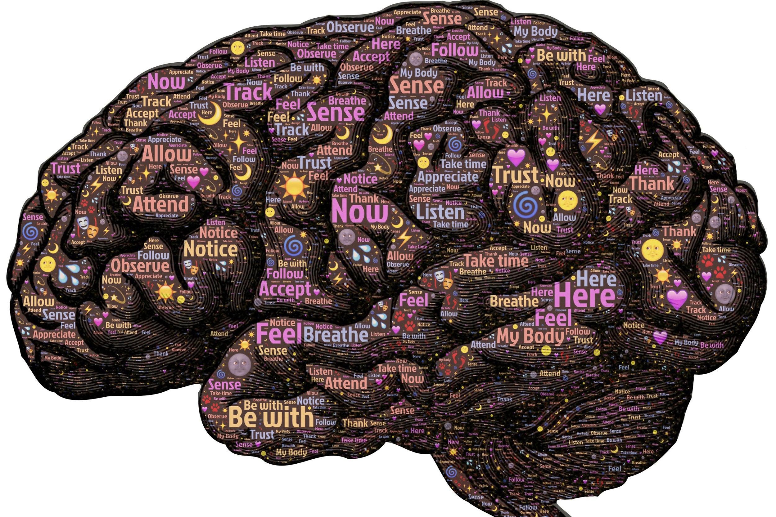 graphic of brain