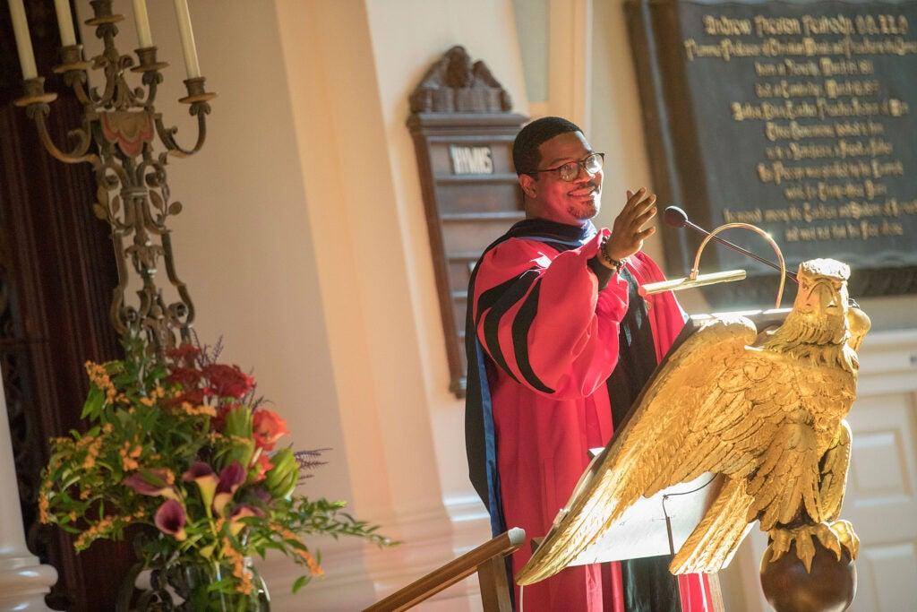 The Rev. Jonathan L. Walton.