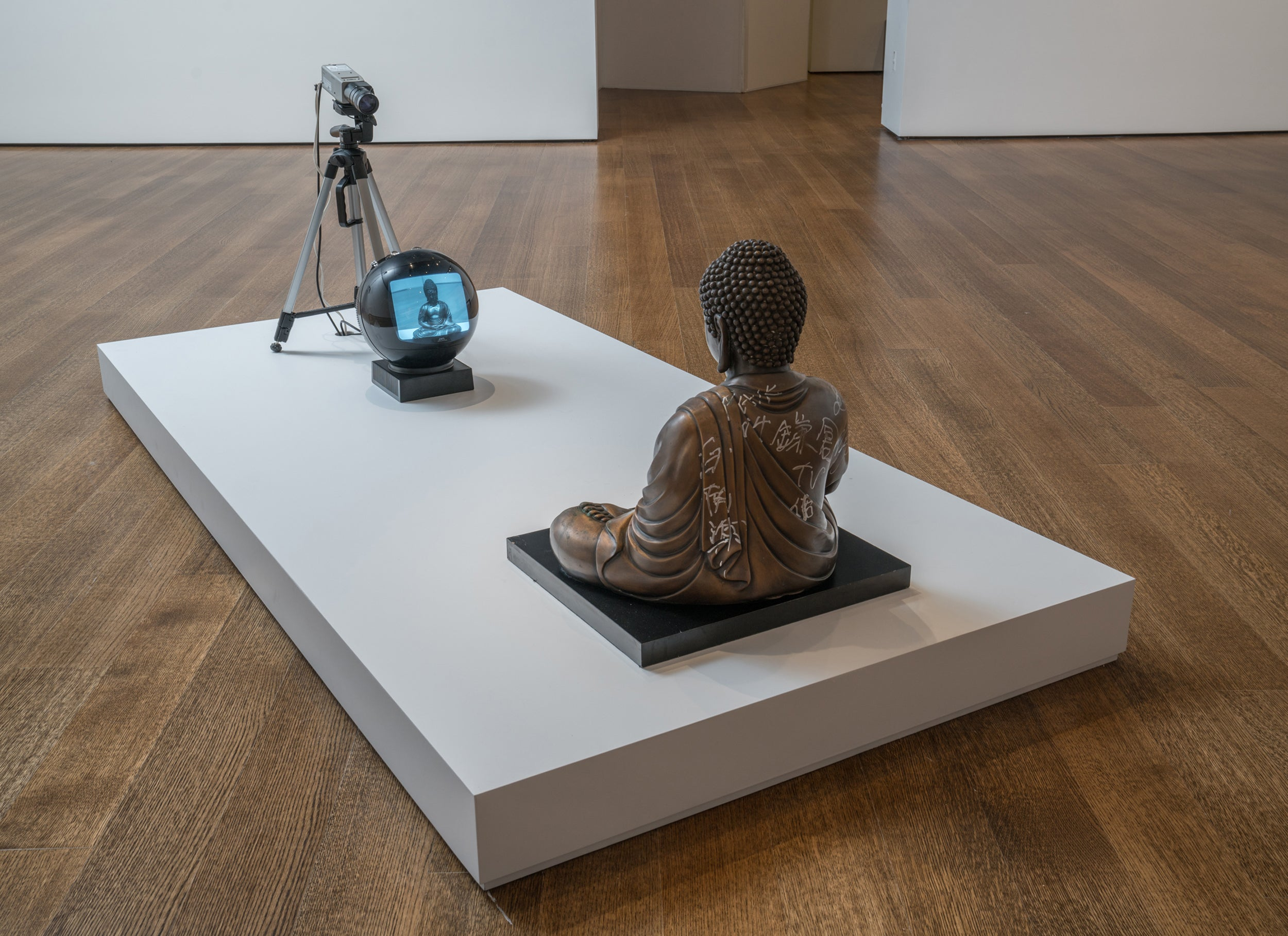 TV Buddha.