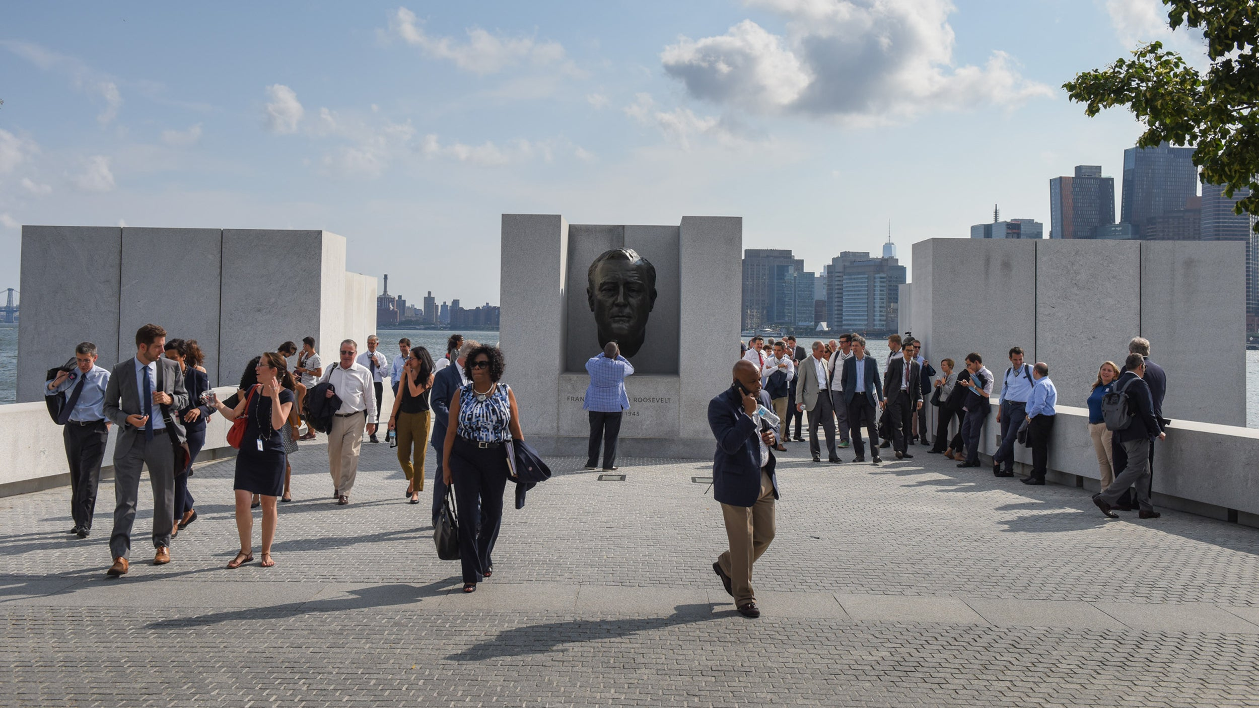 The Bloomberg Harvard City Leadership Initiative mayors program.