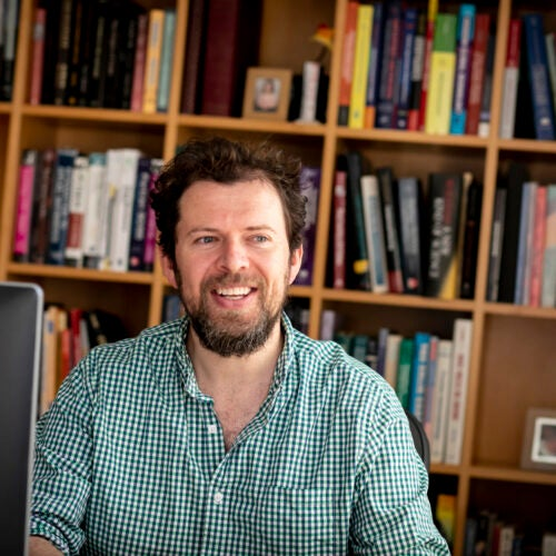Brendan Meade is using artificial intelligence in an effort to predict where aftershocks might occur following an earthquake.