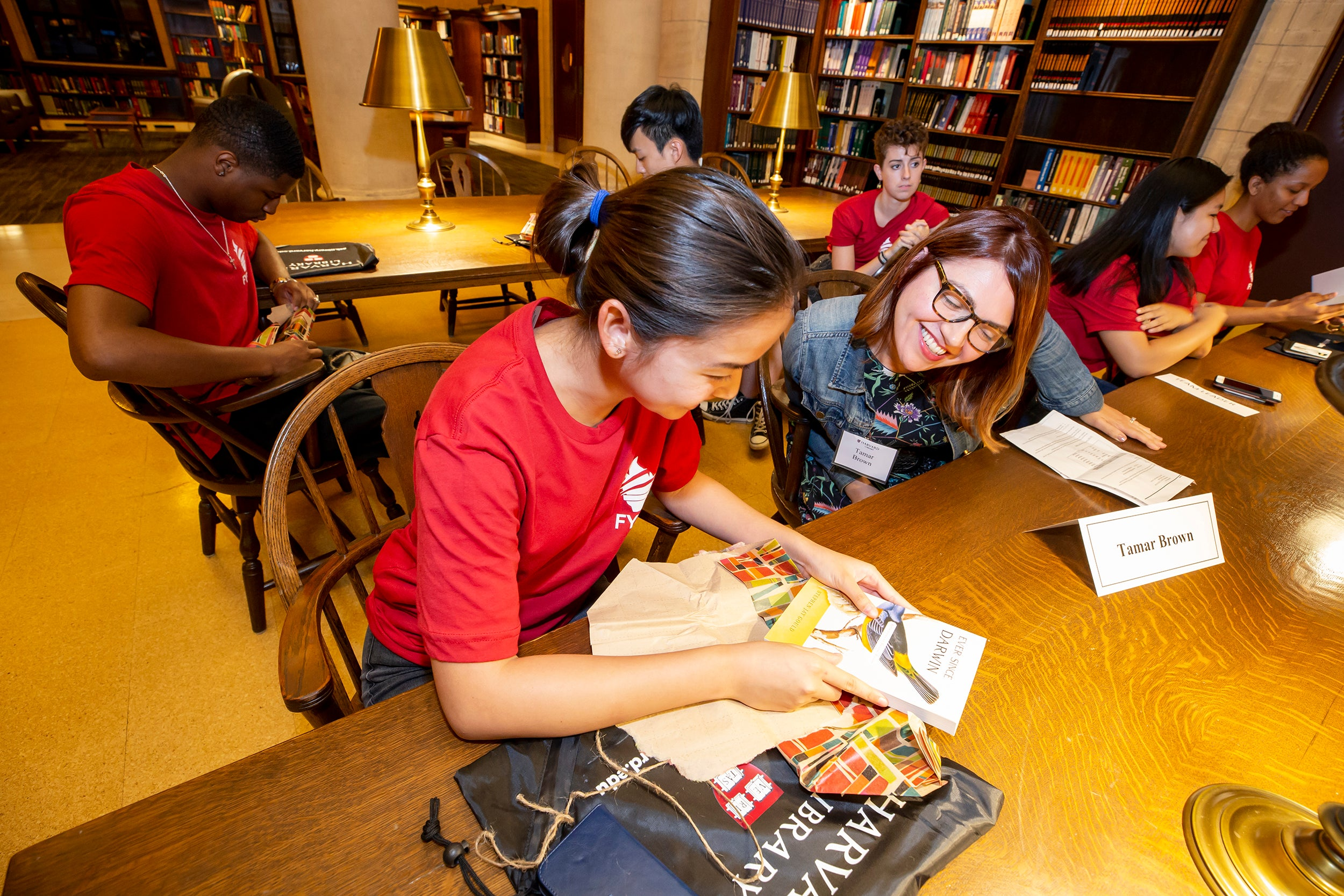 The FAS program First-Year Librarians is an effort to acquaint first-years with the academic resources available to them by strengthening the bonds between students and library staff.