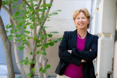 "Cynthia Friend, who recently received a multimillion dollar grant from the U.S. Department of Energy, is well positioned to help ""change the face and carbon footprint of the chemical industries sector."""