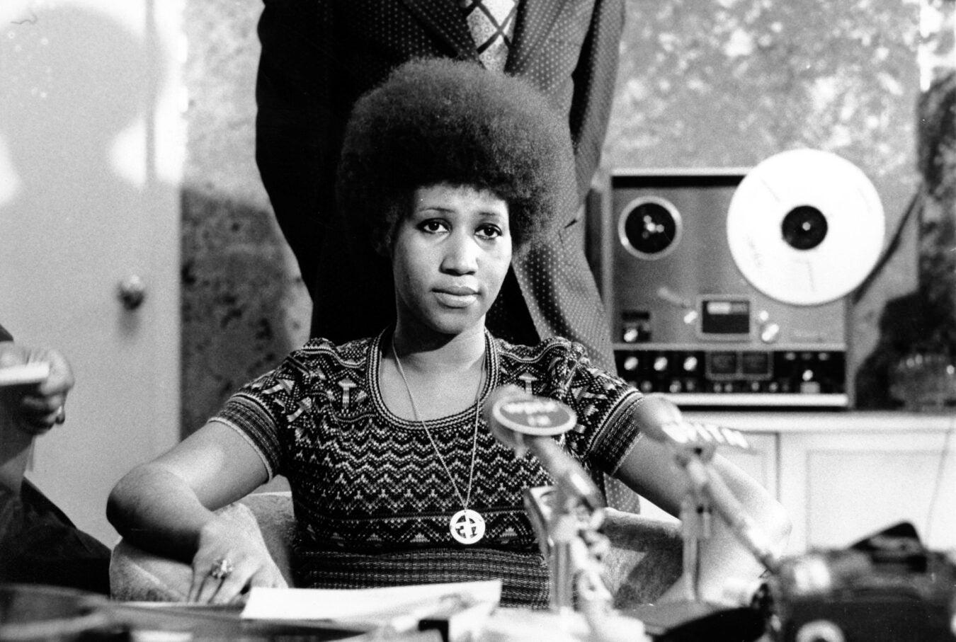 Aretha Franklin 1973/AP