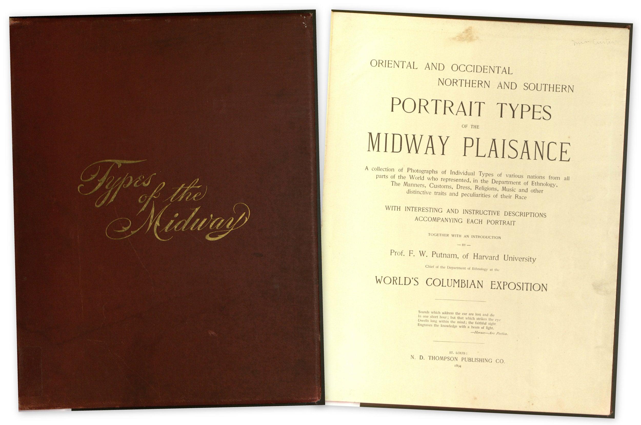 """Portrait Types of the Midway Plaisance."""