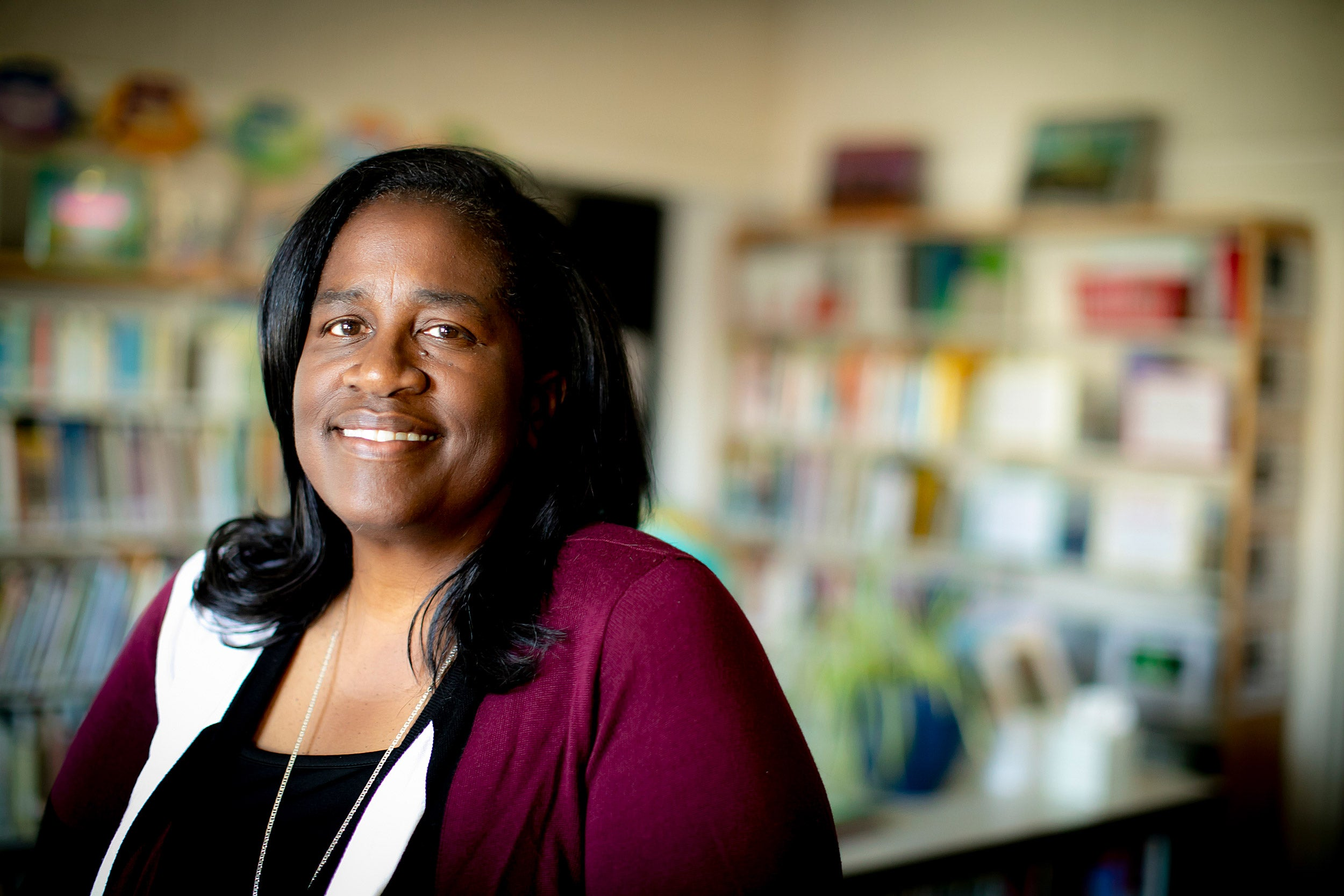"""""""We found that a lot of our parents were talking at their kids, and not necessarily with their kids. Mind Matters gives parents different tools in which to have conversations with their kids,"""" said  Fletcher Maynard Academy principal Robin Harris."""
