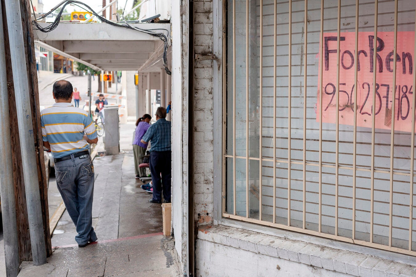 Downtown Laredo.