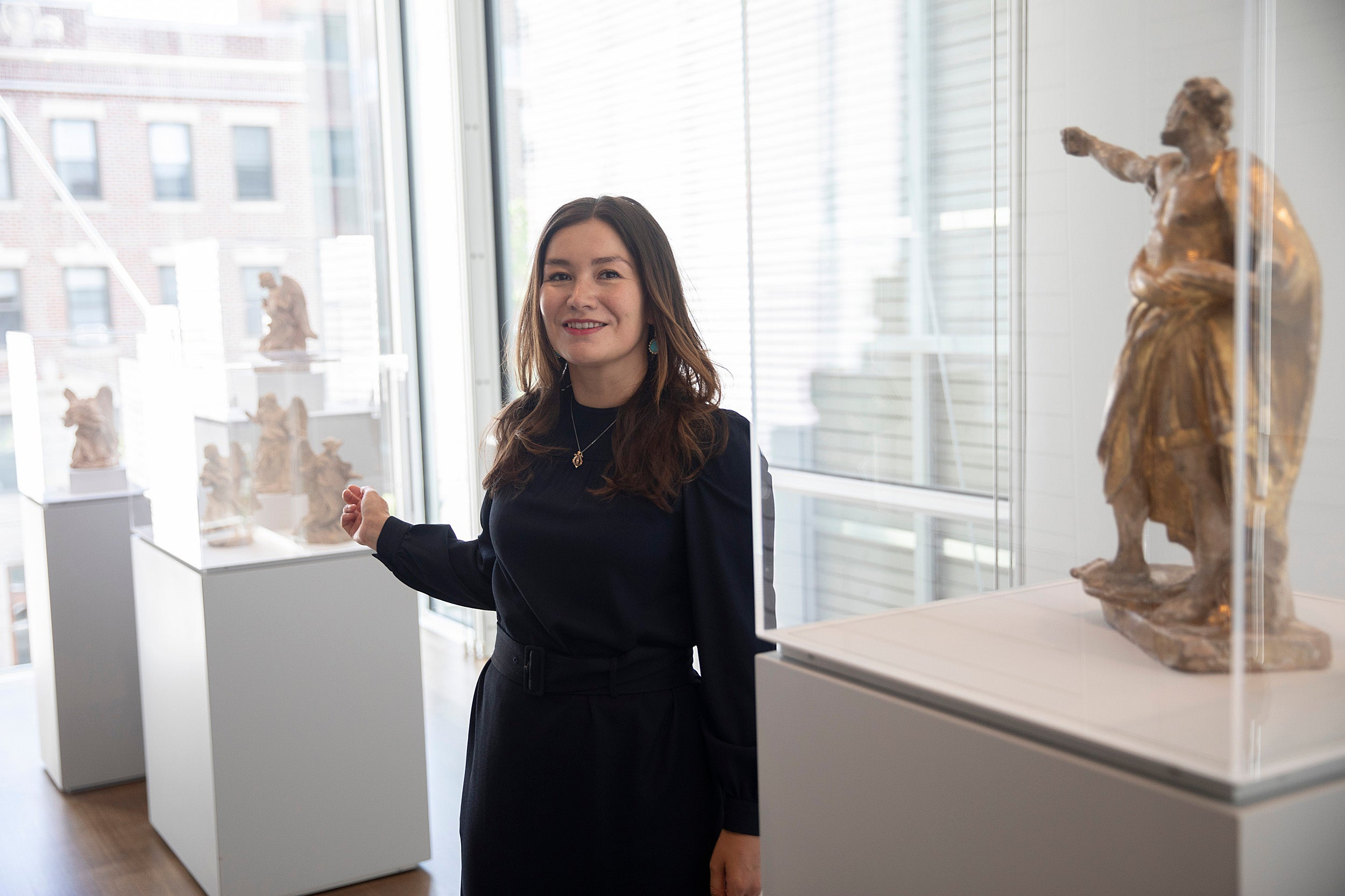 New History of Art and Architecture professor Shawon Kinew gave a lecture last month on Gian Lorenzo Bernini's sculpture of Saint Longinus, c. 1630-1631.