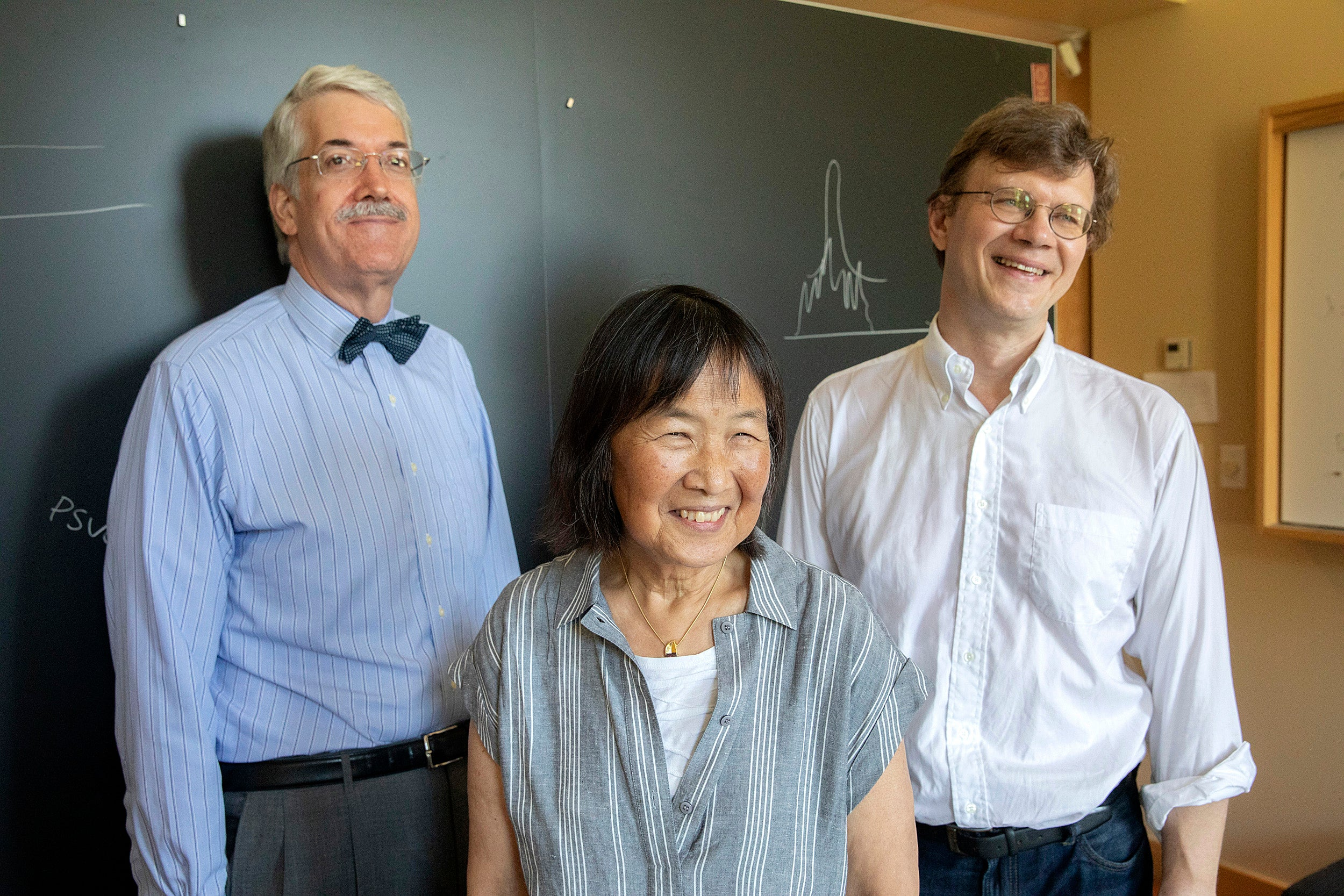 John Doyle, Evelyn Hu, and Mikhail Lukin.