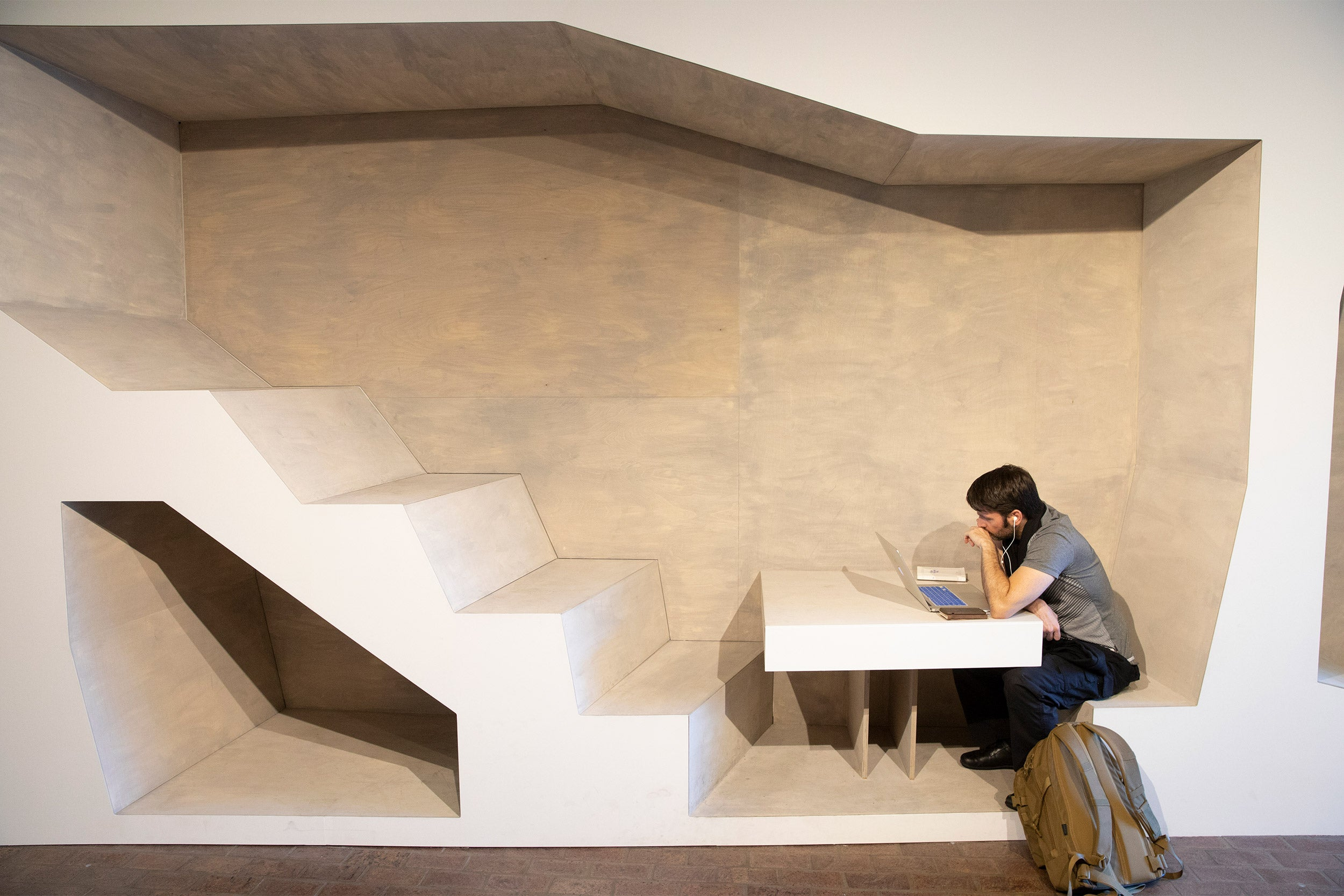 Study space in GSD exhibit