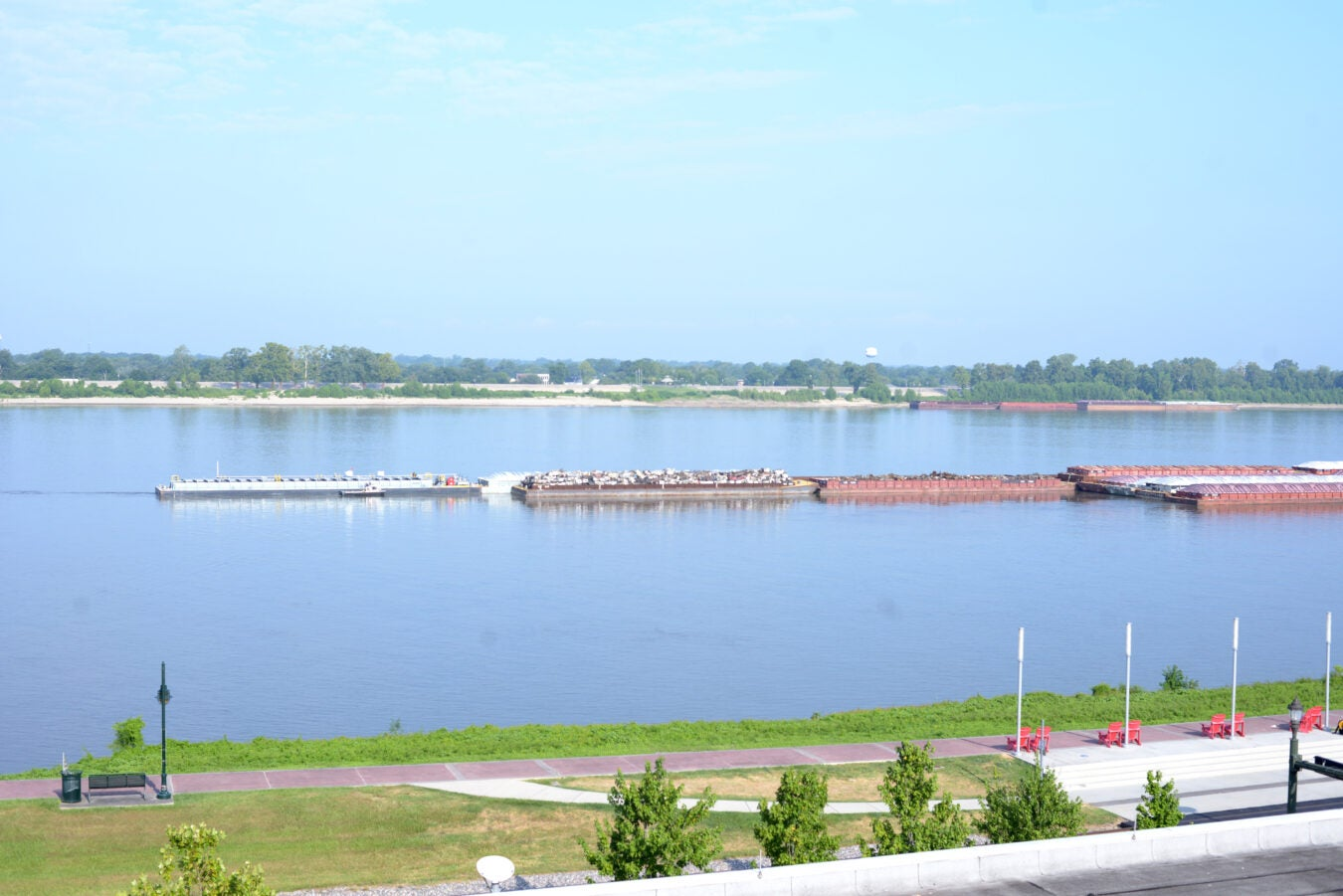 Mississippi River, Baton Rouge.