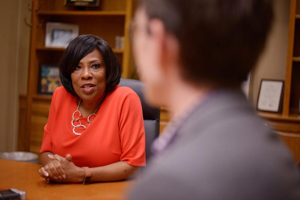 Baton Rouge Mayor-President Sharon Weston Broome.