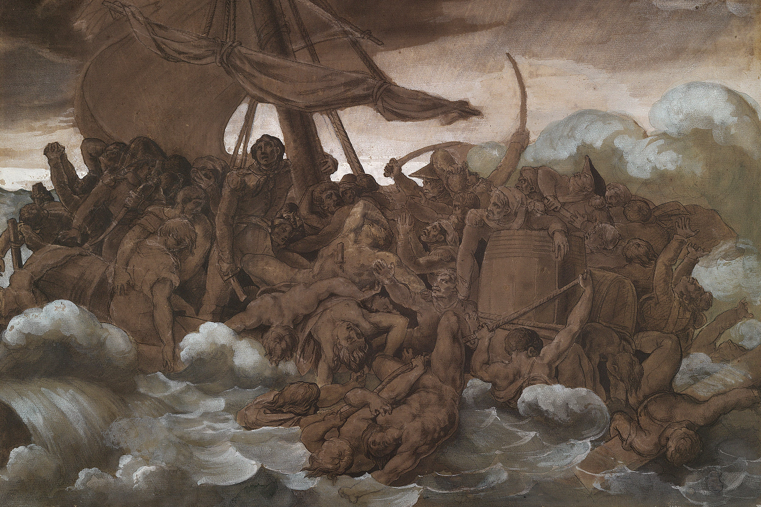 Théodore Géricault, The Mutiny on the Raft of the Medusa.