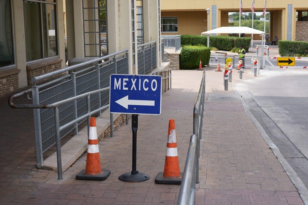 Border, Laredo, Texas.