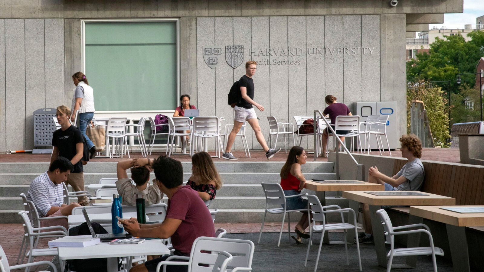 Smith Campus Center scene.