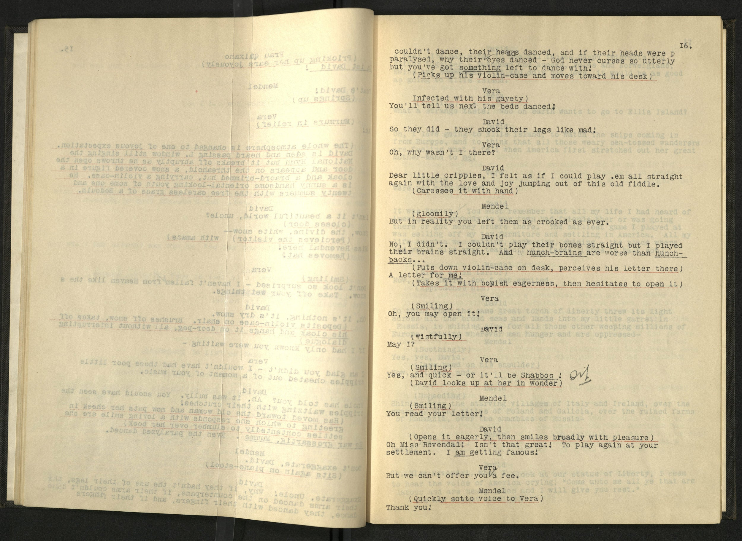 """The Melting Pot,"" script"