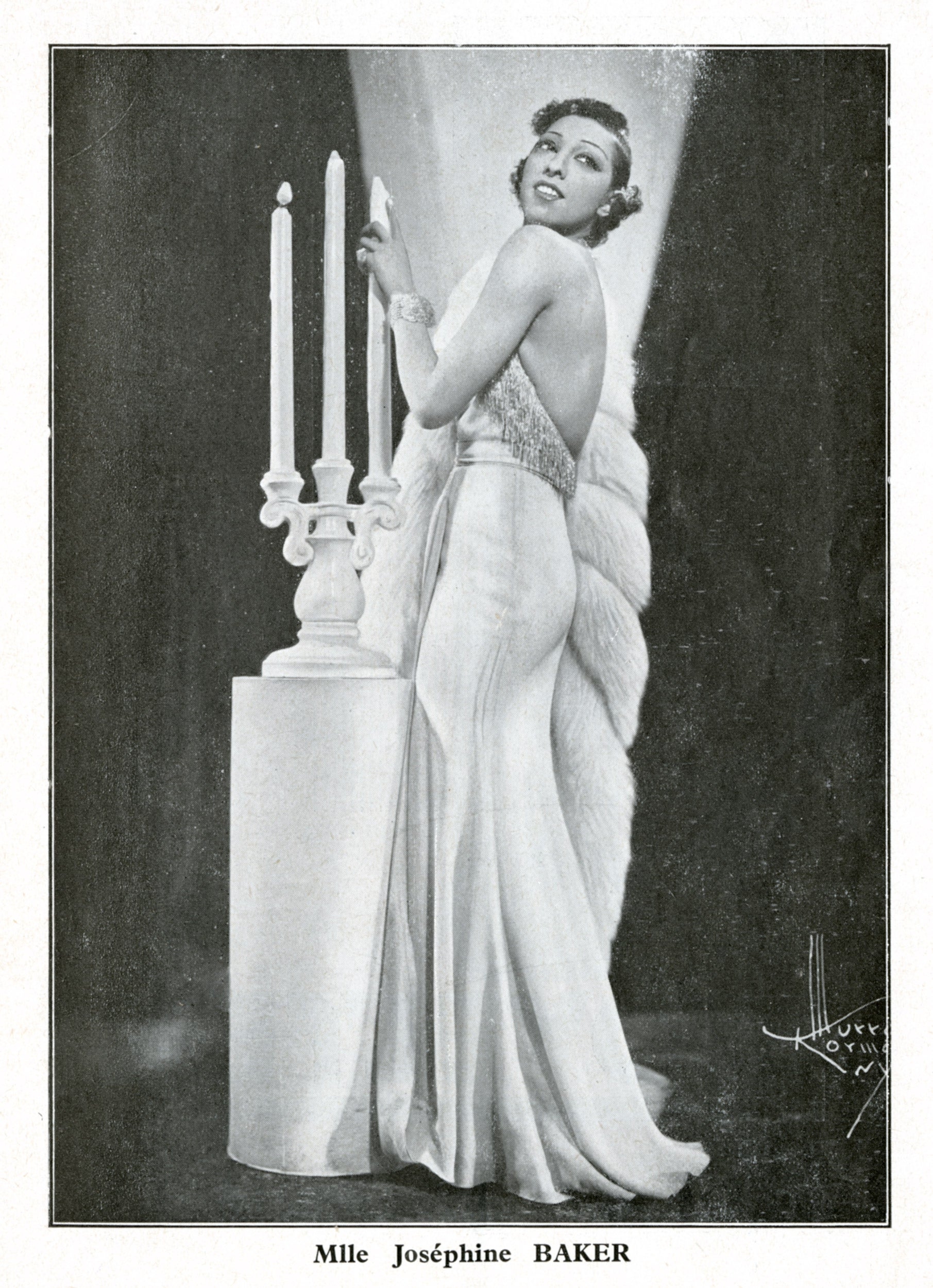 Josephine Baker became an international sensation as a singer and dancer at the Folies Bergère cabaret in Paris.