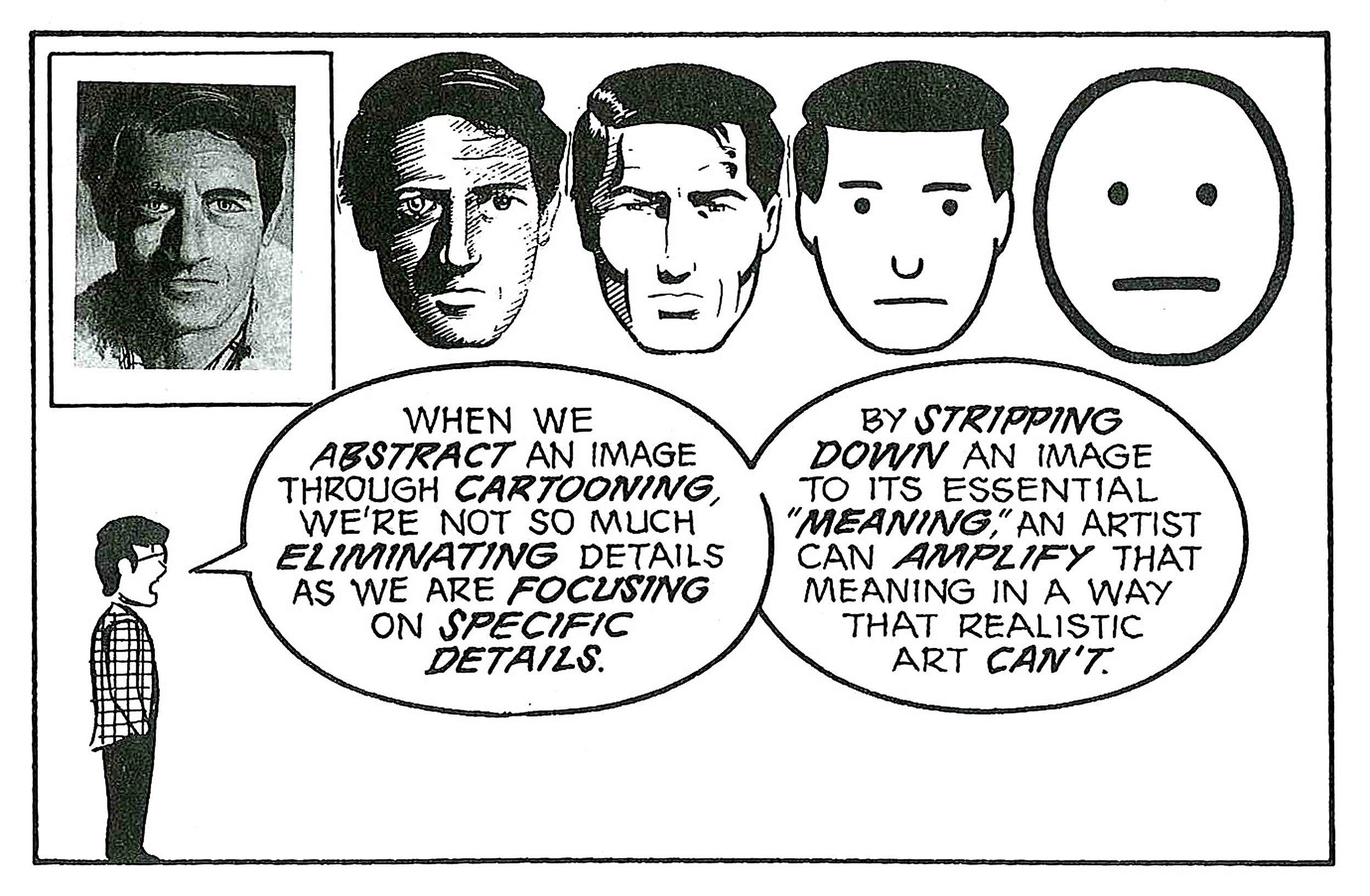 "Panel from ""Understanding Comics."""
