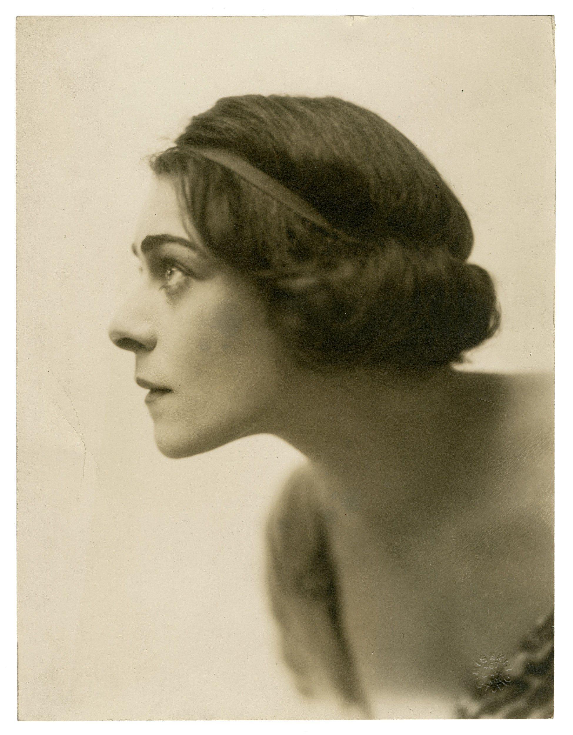 ; Russian-born actress Alla Nazimova, circa 1905.