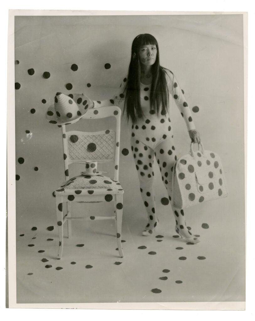 """""""Self-Obliteration"""" by Yayoi Kusama, 1968."""