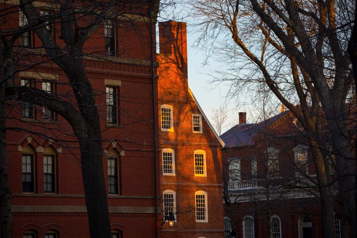 Massachusetts Hall, Harvard