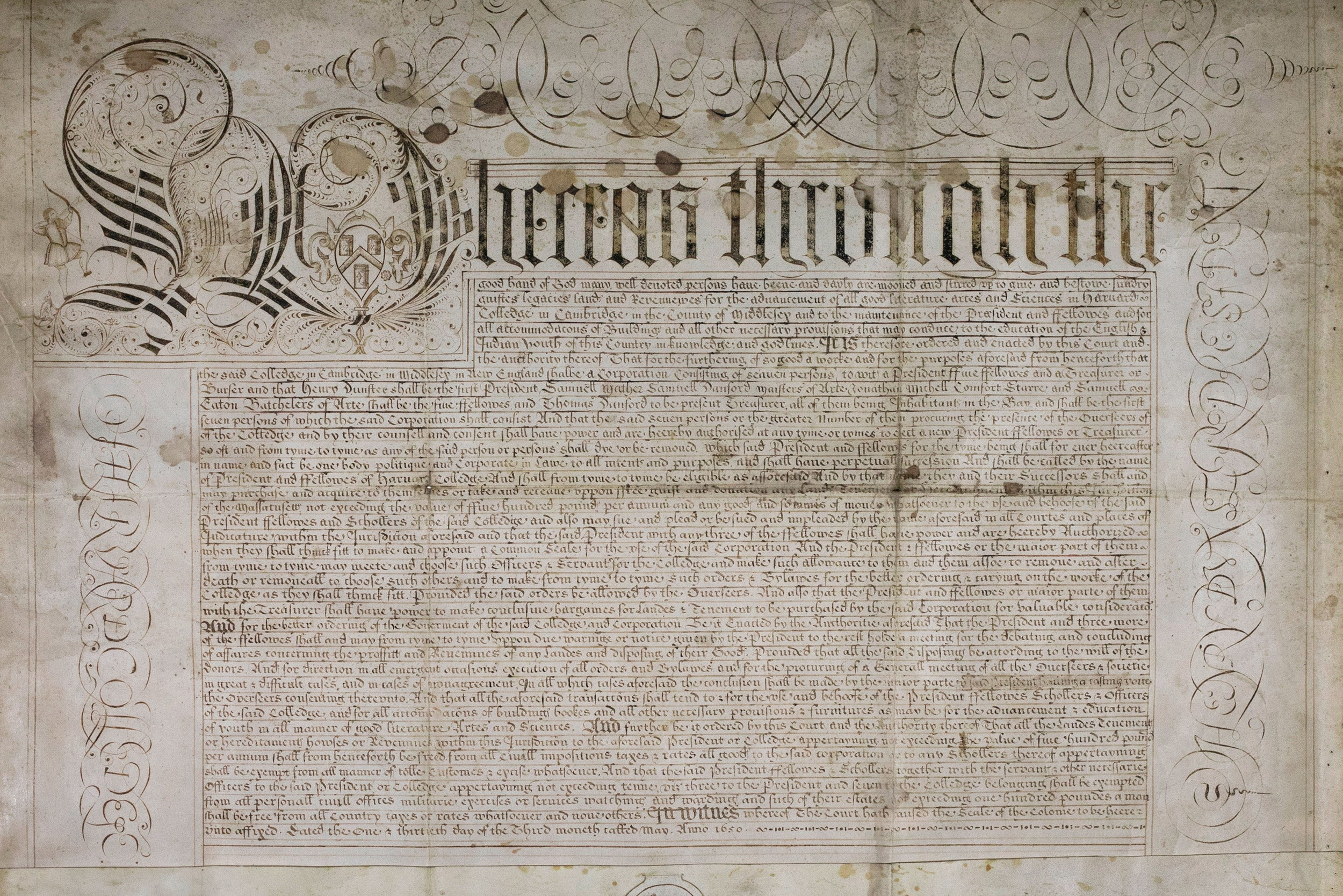 Harvard Charter