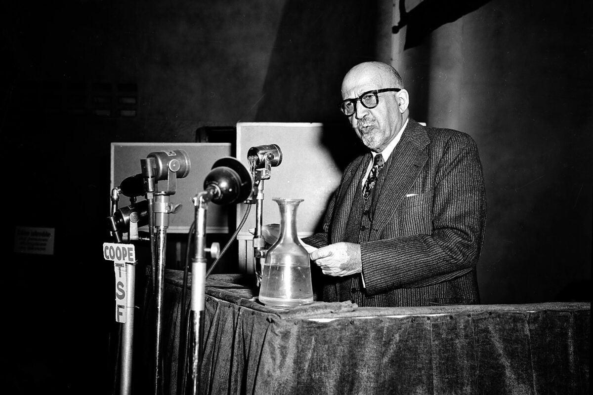 W.E.B. Du Bois, 1949.