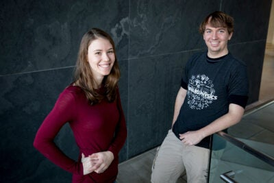 Jenny Schloss and Matthew Turner.