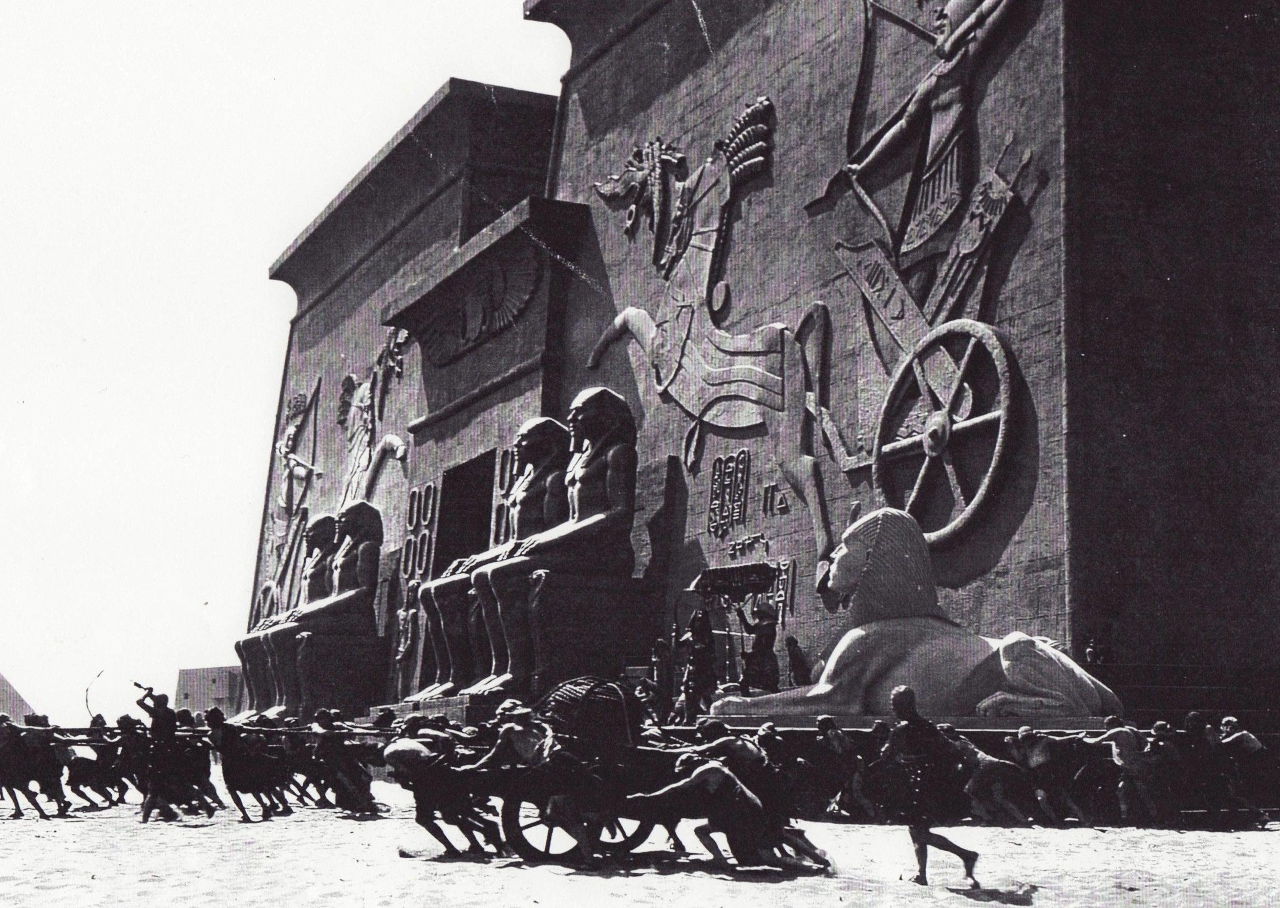 "Scene from ""The Ten Commandments,"" 1923."