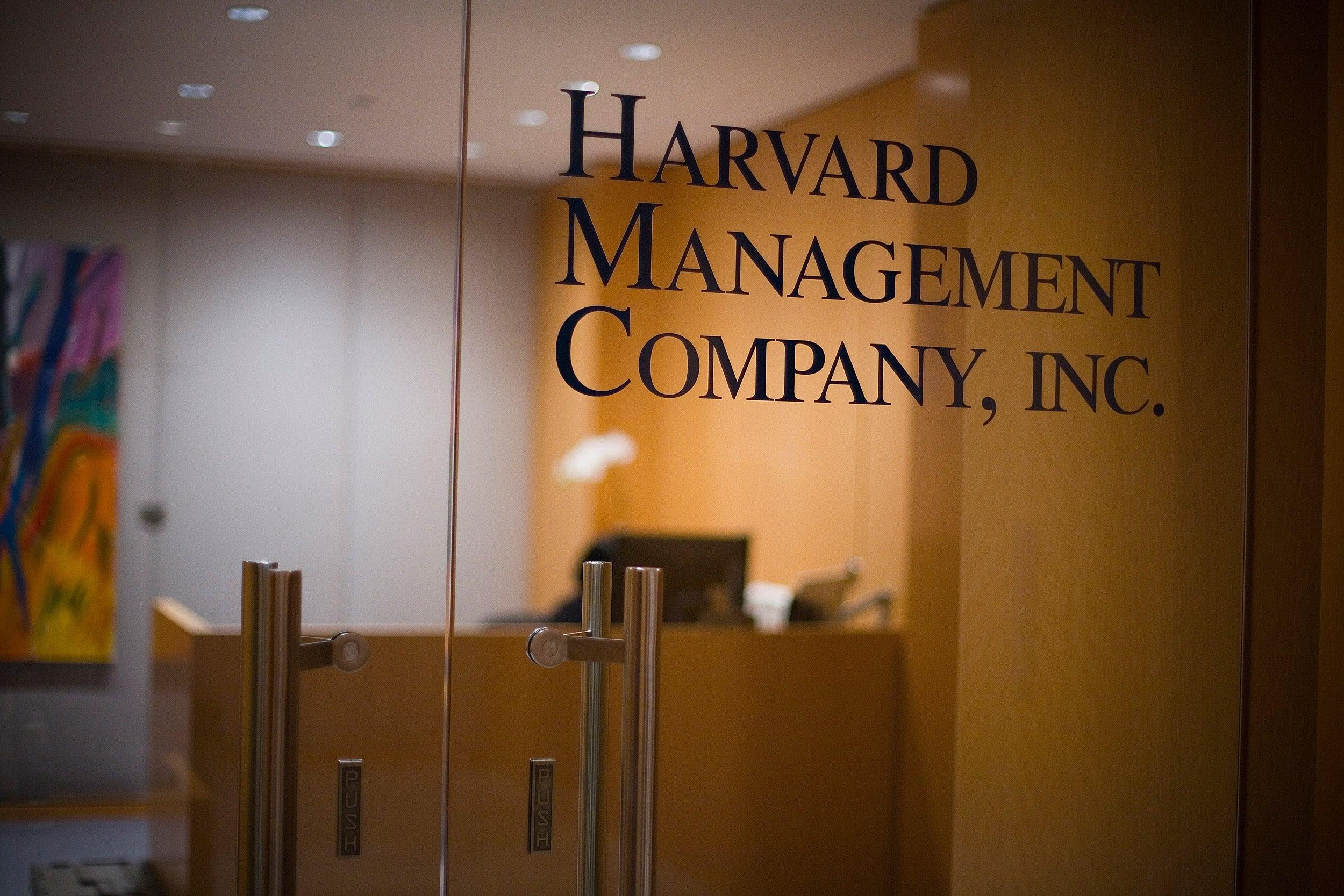 Harvard Management Company door
